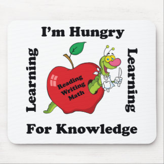 Hungry For Knowledge Mouse Pad