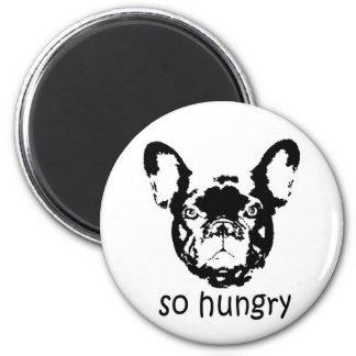 Hungry Frenchie magnet