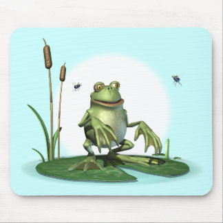 Hungry Frog Mouse Pad