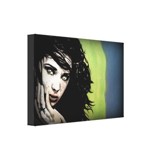 'Hungry Ghost' on a wrapped canvas Gallery Wrap Canvas