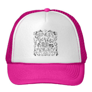 Hungry Girls are Angry Girls Trucker Hat