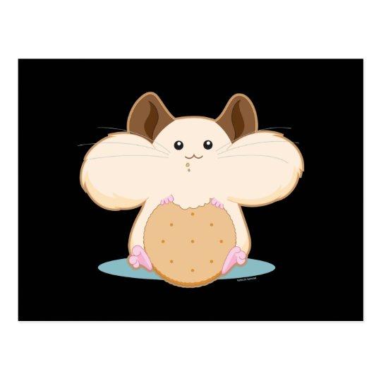 Hungry Hamster Postcard