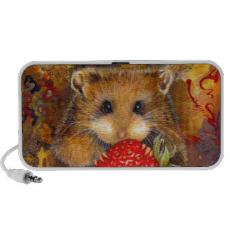 Hungry Hamster Mini Speaker