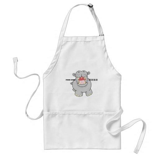 Hungry Hippo Apron