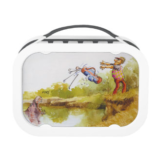 Hungry Hippo Lunch Box