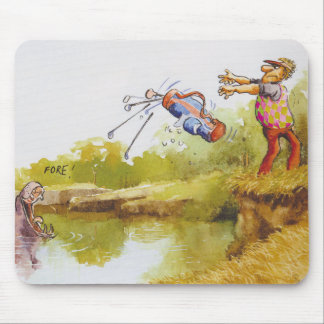 Hungry Hippo Mouse Pad
