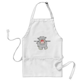 Hungry Hippo Standard Apron