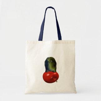 hungry hippo tote bag