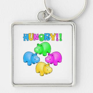 Hungry Hippos Keychain