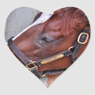 Hungry Horse Heart Sticker