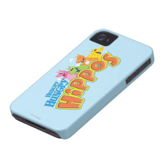 Hungry Hungry Hippos iPhone 4 Cover