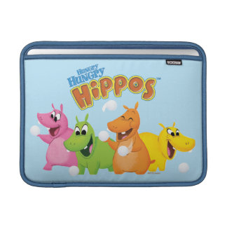 Hungry Hungry Hippos MacBook Sleeve