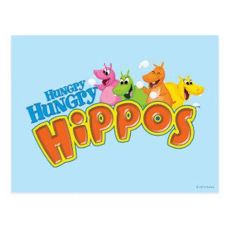 Hungry Hungry Hippos Postcard