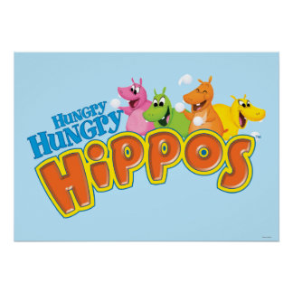 Hungry Hungry Hippos Poster