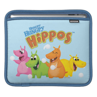 Hungry Hungry Hippos Sleeves For iPads