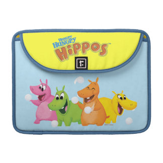Hungry Hungry Hippos Sleeves For MacBook Pro