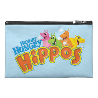 Hungry Hungry Hippos Travel Accessory Bags