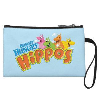 Hungry Hungry Hippos Wristlet