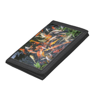 Hungry Koi Tri-fold Wallet