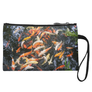 Hungry Koi Wristlet