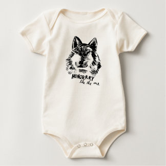 hungry like the wolf baby bodysuit
