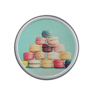 Hungry, Macaron, hipster,multicolor,sweets cookies Bluetooth Speaker