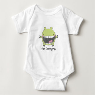 Hungry Monster Baby Bodysuit