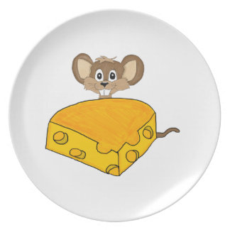 Hungry mouse plate