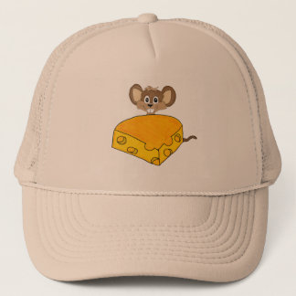 Hungry mouse trucker hat