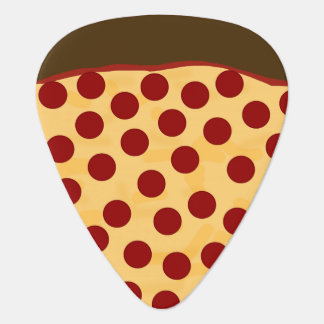 Hungry Musician Pepperoni Pizza Plectrum