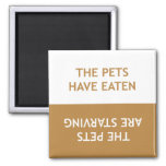 Hungry Pets Refrigerator Magnets