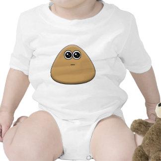 Hungry Pou Baby Bodysuits