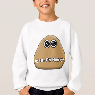 Hungry Pou w/ Text Sweatshirt