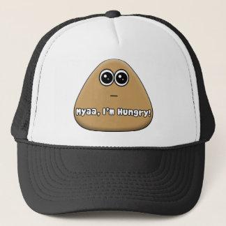 Hungry Pou w/ Text Trucker Hat