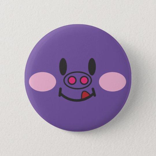 Hungry Purple 6 Cm Round Badge