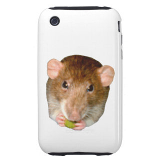 Hungry Rat iPhone 3 Case
