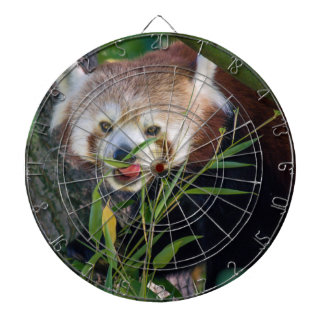 hungry Red panda Dartboard