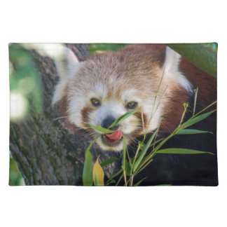 hungry Red panda Placemat