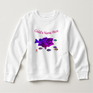Hungry Rockfish - Toddler Fleece Sweatshirt