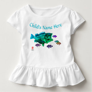 Hungry Rockfish - Toddler Ruffled Tee