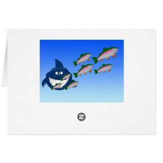 Hungry shark card