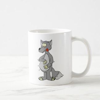 Hungry Wolf Basic White Mug