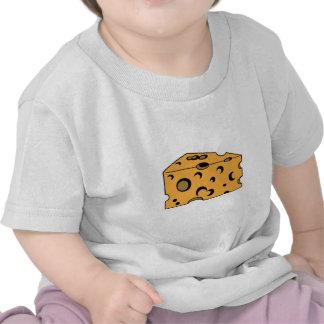 Hunk of Swiss Cheese Tee Shirts