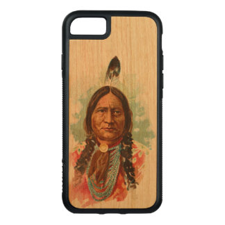 Hunkpapa Sioux Chief: Sitting Bull Carved iPhone 7 Case