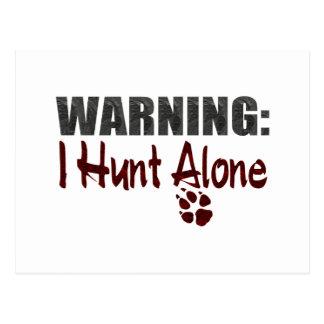 Hunt Alone Postcards
