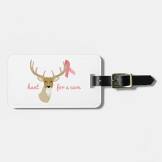 Hunt For A Cure Luggage Tag