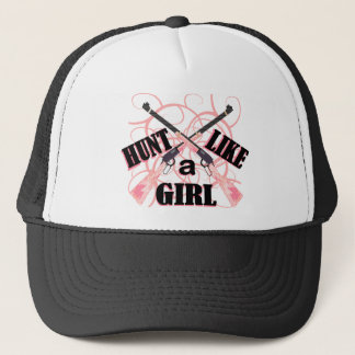 Hunt Like a Girl Pink Camo Rifle Hunting Hat