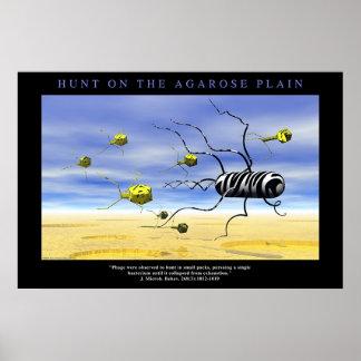 Hunt on the Agarose Plain Print