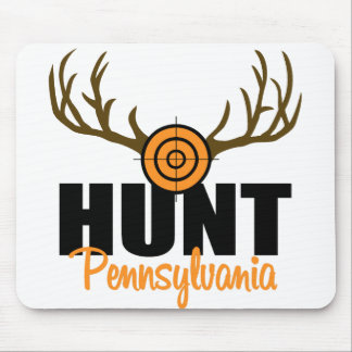 Hunt Pennsylvania Mouse Mat