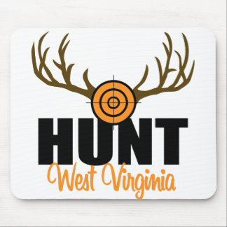 Hunt West Virginia Mouse Mat